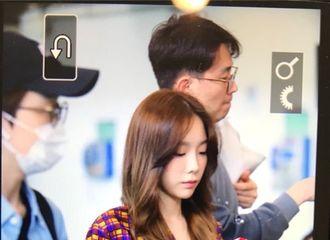 [分享]180423 泰妍-孝渊结束台湾行程 启程返回韩国