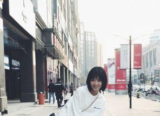 [新闻]180423 沈月更博称深圳的夏天是蒸蛋味 展元气少女的多姿生活