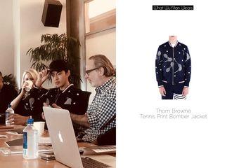 [分享]180424 工作室更博开会照时尚科普:认真的男人最帅气!