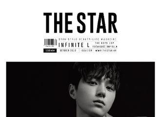 [新闻]180917 Infinite L真空禁欲登《THE STAR》10月刊 迷妹大呼痴狂了