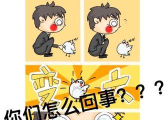 [新闻]180921 又来battle!小白鸽画搞笑漫画与白敬亭互怼
