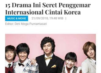 [新闻]180922 李敏镐不愧是韩流明星代表 主演的韩剧影响深远
