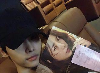 """[分享]181015 车学沇义气为韩志旼前辈新电影宣传""""是可以感受到深沉意义的一部电影"""""""
