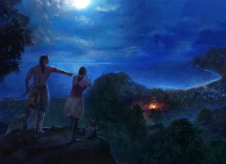 [新闻]181017 今日九月九重阳节 电影《日月》放迪丽热巴绘图物料