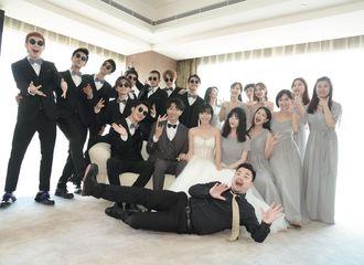 [消息]左立恋爱8年终娶熊小玥 13快男齐聚力挺兄弟婚礼
