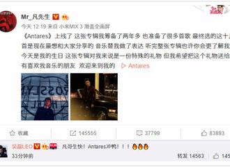 [新闻]181106 吴磊送吴亦凡生日祝福 重情重义弟弟还不忘为哥哥新专打call