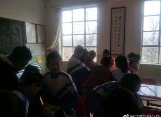 [分享]181204 王鹤棣粉丝饭随爱豆正能量满满 向西部乡村小学捐赠书籍