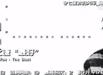 [新闻]181210 薛之谦相关音乐榜单周汇 内地榜+海外榜二合一放送