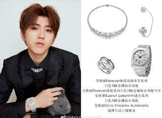 [分享]181212 蔡徐坤品牌活动时尚科普 把耳环当胸针佩戴获品牌CEO点赞
