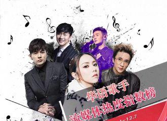 [新闻]181213 十二月第一周华语歌手排名 薛之谦本周前三