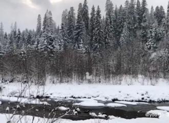 [新闻]181214 《横冲直撞20岁》拍摄现场环境曝光 冰天雪地隔着屏幕都能感受到这股寒气袭人的刺骨!