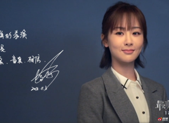 [新闻]181215 杨紫最美表演海报拍摄宣传视频来袭:保持童真 相信角色