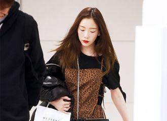 [新闻]181215 完美无瑕的泰古美貌 泰妍结束海外行程仁川返韩