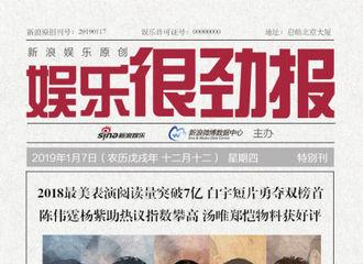 [新闻]190118 娱乐很劲报公布《2018最美表演》特刊 陈伟霆相关物料引发关注高峰
