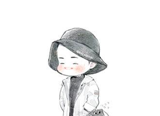 [分享]190119 杨洋渔夫帽造型机场饭绘 连口罩都成精的大可爱