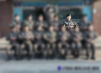 [分享]190122 穿上军装的白嫩桃 李昌燮入伍第一周训练合照公开