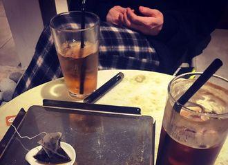 """[分享]190122 出现在友人INS中的梁耀燮""""入伍前最后的tea time"""""""