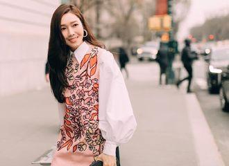 [分享]190212 令滤镜都变得无用的无暇美貌 Jessica郑秀妍现身纽约时装周Carolina Herrera大秀
