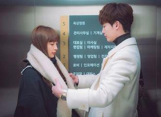 """[新闻]190216 """"罗别""""李钟硕♥李奈映,下班路上的甜蜜时刻...令人心跳不已的电梯对视"""
