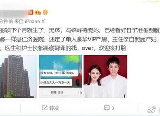 [新闻]190219 赵丽颖被曝下月生产 入住医院由谢娜介绍
