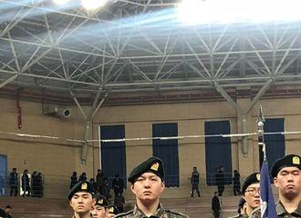 [分享]190226 威风堂堂!李昌燮新兵毕业仪式现场路透公开