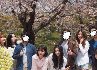 [分享]190418 樱花树下的小女友 这是一起去踏青了的节奏