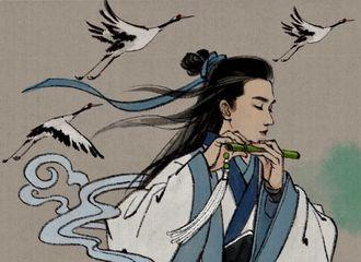 [分享]190419 神仙大触出手画神仙 画中题字有亮点
