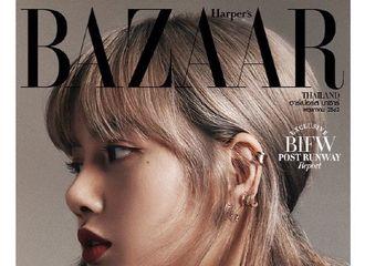 [分享]190422 只用侧脸就能迷倒众生的LISA 泰国杂志封面get!