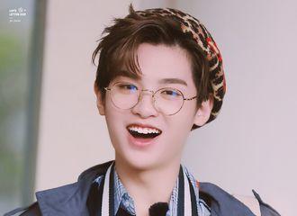 [新闻]190506 豹纹贝雷帽俏皮小刘海 今天是超开心的弟子Justin