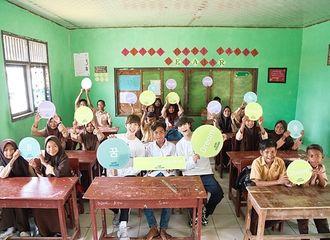 [新闻]190513 NCT DREAM帝努-渽民,与印尼贫民窟孩子们度过美好的一天