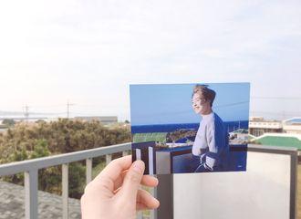 [分享]190515 珉锡入伍第八天,带着你的照片寻访你走过的每个场景