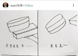 """[分享]190519 被胖娜玩坏的""""蛋糕梗""""拥有人气漫画!嘶噜噜噜噜……"""
