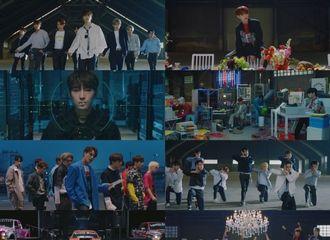 """[新闻]190520 """"绝对的表演强者""""SEVENTEEN通过日本单曲MV展示超现实模样"""