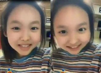 [分享]190524 这次是真·三岁 娜琏也加入婴儿变脸特效行列中