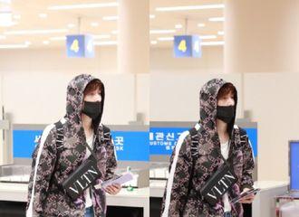 [新闻]190524 艺兴今日现身仁川机场,粉丝拥挤导致意外发生