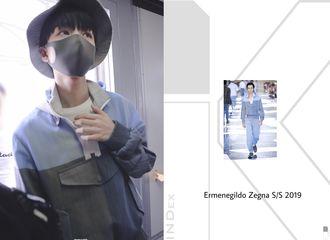 [新闻]190525 王俊凯北京飞上海 来看阳光凯的机场时尚