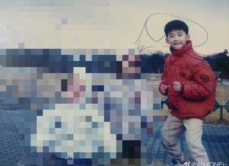 [分享]190525 没见过的童年照小小硕!白白净净小脸+呆萌表情→可爱炸裂!