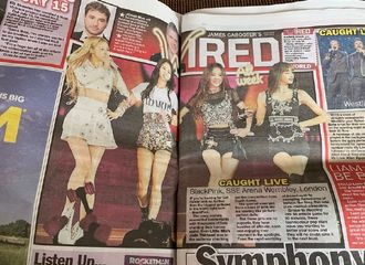 [星闻]英国纸媒报道Blackpink,英国曼切斯特城和伦敦两场演唱会大获成功!