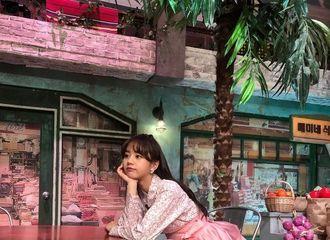 [星闻]李惠利公开身穿粉色韩服近照,网友们纷纷留言反应热烈