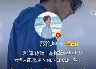[分享]190719 微博装扮达人蔡徐坤 更换微博头像背景达成色调统一