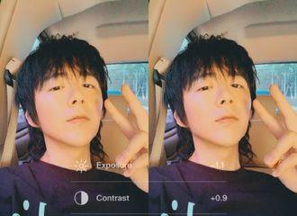 [新闻]190805 刘宇宁更博分享自拍 挑战自我又有新惊喜?