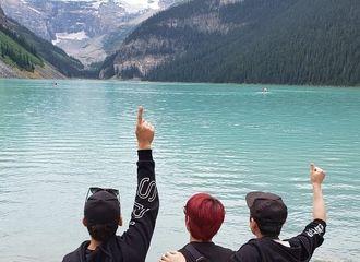 [黄致列][分享]190807 戏精三人组加拿大旅游 解锁各种合影逗比pose