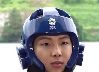 [防弹少年团][分享]190808 戴起头部护具玩水上游戏的防弹少年团,弹珠警察本察的七个小可爱~
