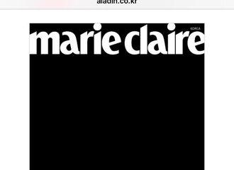 [Red Velvet][分享]190813 《Marie Claire》杂志九月刊内页将收录Irene画报
