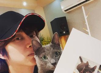 [Super Junior][分享]190814 金希澈上线为配音电影《只有我没有猫》宣传…魂穿这只伴侣猫!