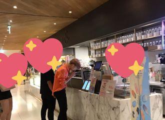 [NCT][分享]190814 咖啡店偶遇朴志晟 星星这是去花积分了吗?