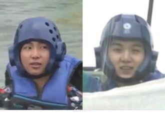 [防弹少年团][分享]190815 你没有看错,金南俊这个智商爆棚的男人在跑弹里竟然把头盔戴反了!