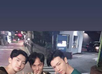 [Super Junior][分享]190818 友人公开李东海近照 胸肌手臂肌肉太过瞩目