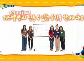 [Red Velvet][新闻]190821 Red Velvet《一周的偶像》预告来袭,28日播出!