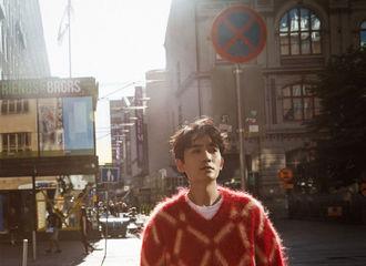 [新闻]190823 品牌认领朱一龙拍摄杂志所穿衣服 红色菱格毛衣温暖明朗